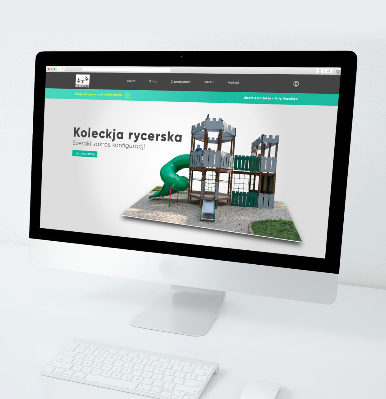 Strona internetowa Saternus